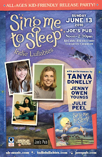 Sing Me To Sleep Release Party at Joe's Pub on June 13th