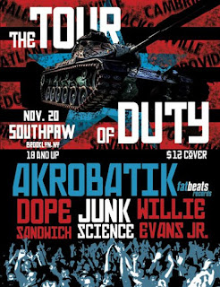 Junk Science Play Southpaw in Brooklyn on November 20th