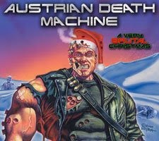 Austrian Death Machine - A Very Brutal Christmas EP Review