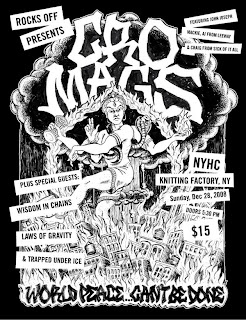 John Joseph & the Cro-Mags are playing the Knitting Factory on December 28th
