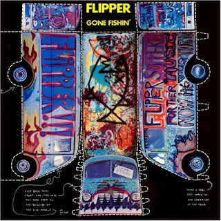 Flipper - Gone Fishin' CD Review (Water Records)