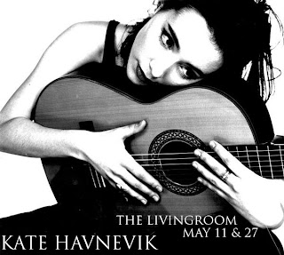 Kate Havnevik Plays The Living Room on May 11th and 27th