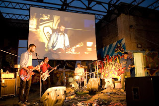 Rooftop FIlms Starts its 13th Season on May 15th with Short Films and Music by Cymbals Eat Guitars