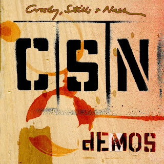 Crosby, Stills and Nash Release 'Demos' (1968-71 demos) on June 2nd