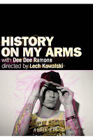 Dee Dee Ramone - History on My Arms DVD comes out June 16th