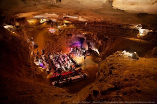 Those Darlins Play the 'Center of the Earth' (Cumberland Caverns in TN) on Sat., Sept. 26th