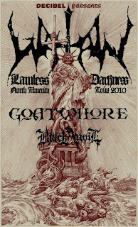 Watain: North American Tour Kicks off Saturday // Show at Santos Party House on Dec. 2nd