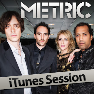 Metric Releases 8-Track Acoustic/Electric iTunes Session