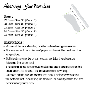 Foot Size Measurement