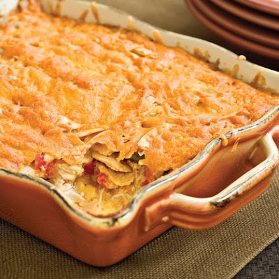 Kelly's Recipes: Mexican Chicken (a.k.a. King Ranch Chicken)