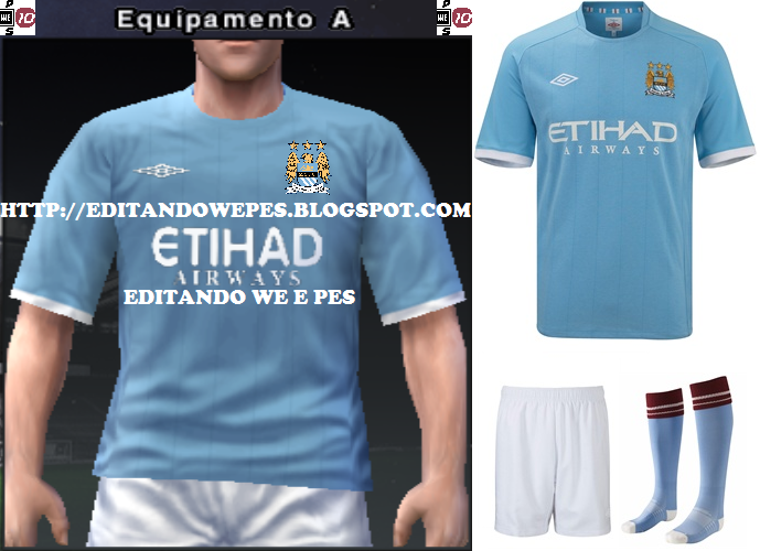 Uniforme Manchester City PES 2010