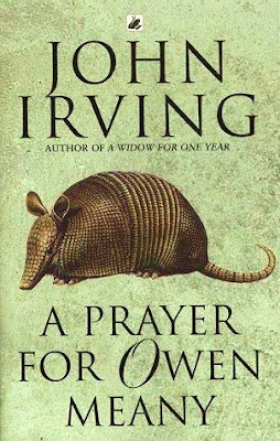 a review of john irving novel a prayer for owen meany A prayer for owen meany is a unique and fascinating literary fiction read i had a difficult time rating this book, because, although i thoroughly enjoyed this novel, and found it captivating, humorous, and thought-provoking, it is bloated.