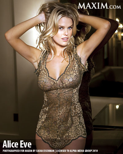 A To Z World Stars Pictures 27 Alice Eve Maxim April 2010 Photo Shoot Video