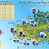 Peta Lokasi Objek Wisata Pacitan