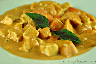 my office told me about a pumpkin curry that he had at a nearby Thai ...