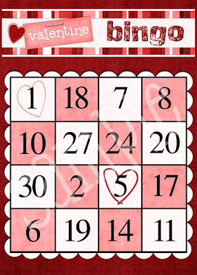 easy valentine ideas and free templates the crafting chicks - Valentine Bingo Cards
