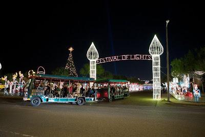 Hidalgo Christmas Lights