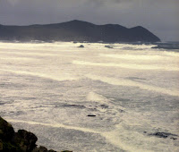 South East Cape following storm, mid-2005