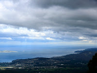 Storm Bay from the Milles Track, Mt Wellington - 11 March 2007
