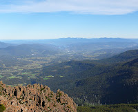 Huon Valley from Collins Bonnet summit - 11 May 2007
