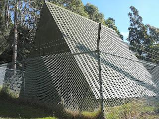Former cosmic-ray observatory, Mt Wellington, Tasmania.