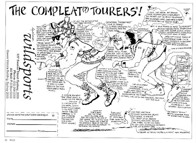 The Compleat Tourers - Wildsports advert from Wild Magazine, Oct/Nov/Dec 1987