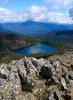 Mt Picton and Hartz Lake from Hartz Peak - 3 November 2007
