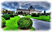 Вена, парк, Австрия