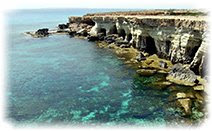Море, скалы, Кипр