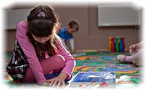 Детский сад, девочка, игра