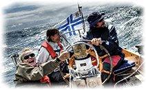 Яхта, море, люди, Дания