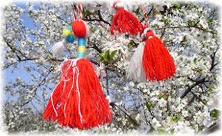 Мартеница, весна