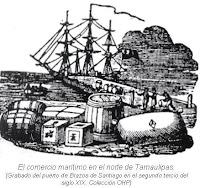 El comercio maritimo norte Tamaulipas