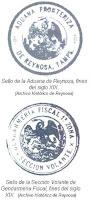 Sellos Aduana Reynosa y Gendarmeria Fiscal siglo XIX