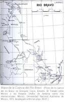 Mapa de la cuenca Rio Bravo