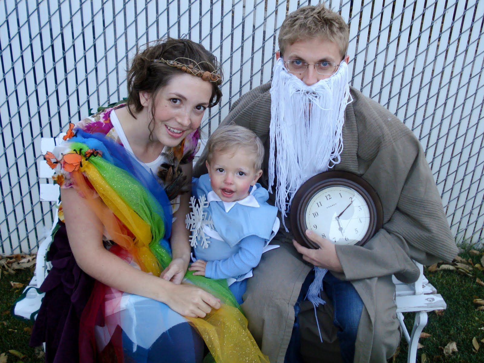 Mother Nature And Father Time Costumes