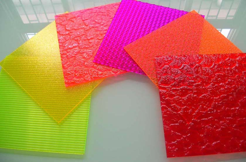 polymers intelligence. acrylic plastic sheets  an invention with, coloring