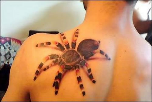 Zlatan Ibrahimovic Cesc Fabregas Tim Cahill Stephen Ireland A tattoo on a guy's chest that looks like Spider-Man's suit hiding under his