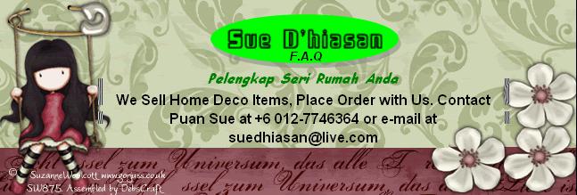 Sue D'hiasan-FAQ