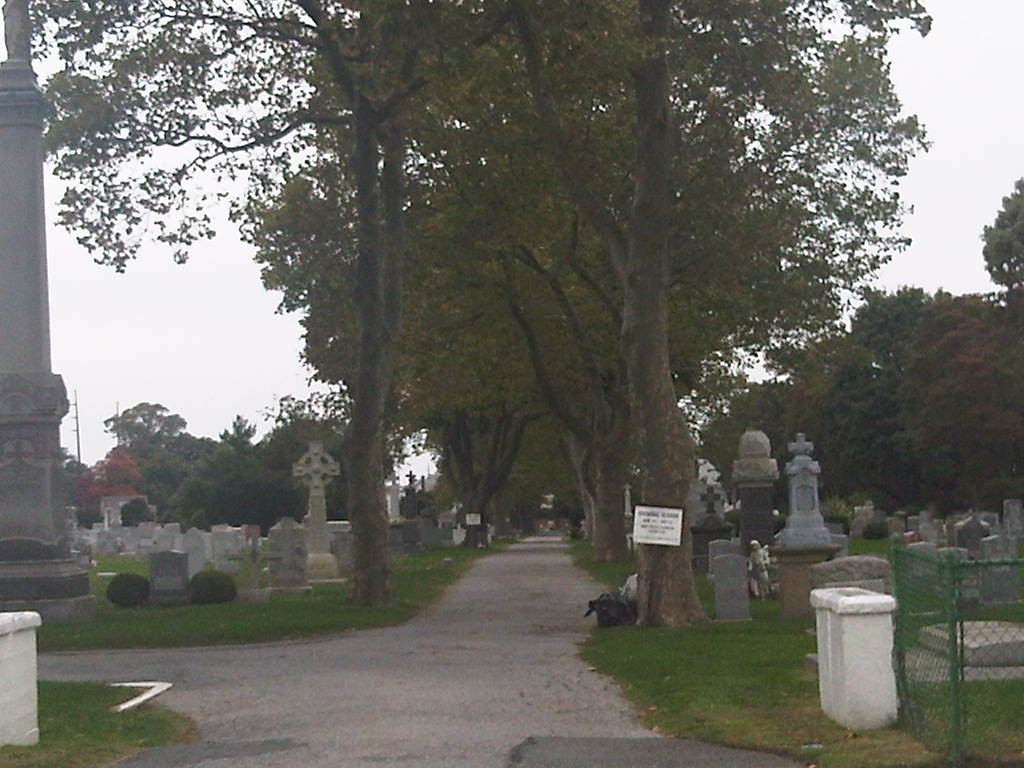 Parish cemetery of St. Mary Star of the Sea Catholic Church in Far Rockaway