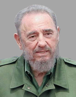 Rostro de Fidel Castro anciano