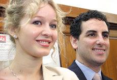 Rostro de Julia Trappe y Juan Diego Florez