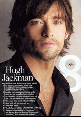 Hugh Jackman posee unos ojos preciosos