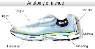 Running shoe anatomy