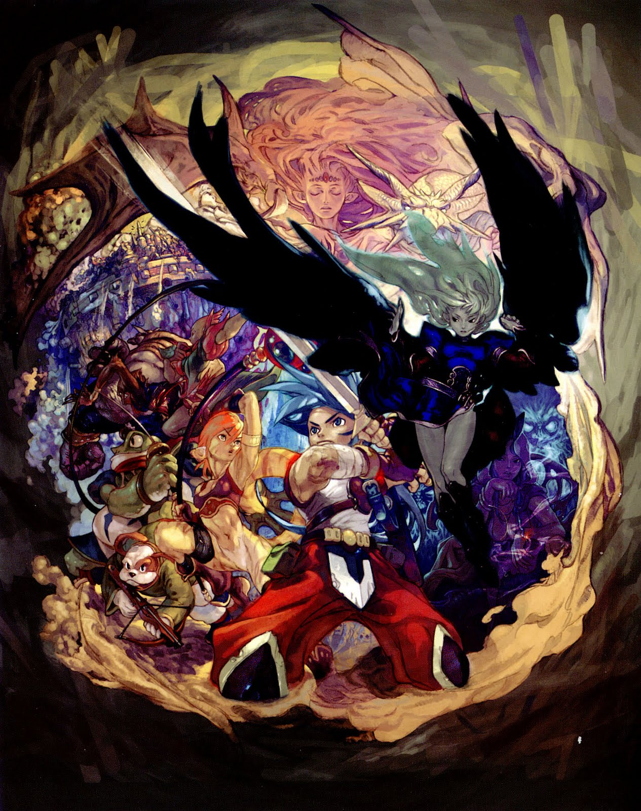 Breath of Fire HD & Widescreen Wallpaper 0.67389285418122