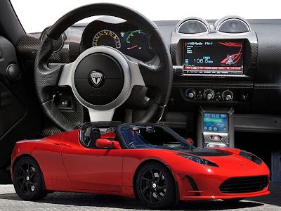 2011 Tesla Electric Sports Cars Roadster 2.5