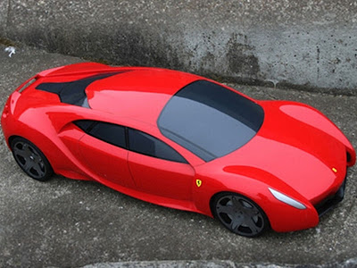 This Ferrari FSX Concept Also Comes In These Photos With A Really Cool  Design For The Rims Which Really Fits With This Ferrari FSX Concept.
