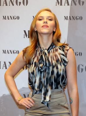Scarlett Johansson Gold Bracelet