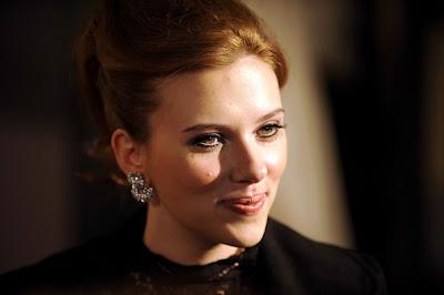 Scarlett Johansson Diamond Studs