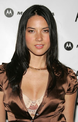 Olivia Munn Layered Beaded Necklace